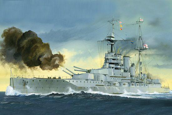 HMS Queen Elizabeth 1918 1:700