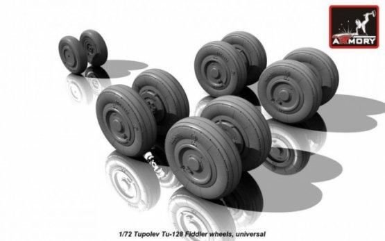 Tu-128 Fiddler wheels 1:72