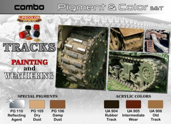 Lifecolor Track Painting & Weathering set