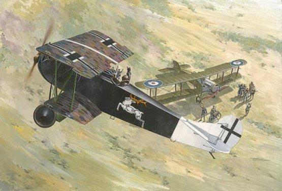Roden Fokker D.VII (Alb) early 1:48
