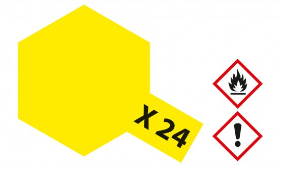 Tamiya X-24 - Clear Yellow - 23ml