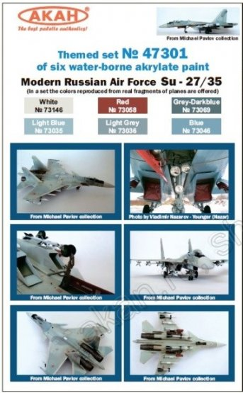 Russian Modern Air Force - Su-27, Su-30, Su-35