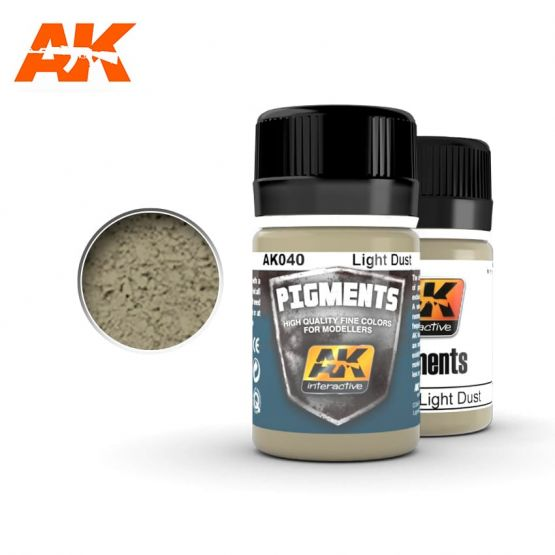 AK Interactive AK040 - Light dust pigment