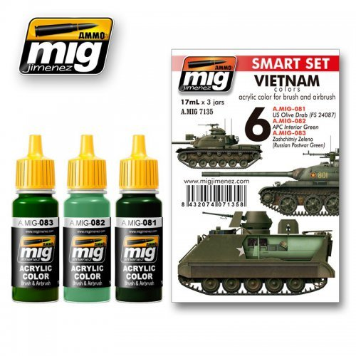 AMMO of MiG Vietnam War colors set