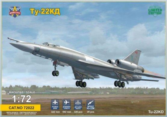 Tupolev Tu-22KD Blinder-B 1:72