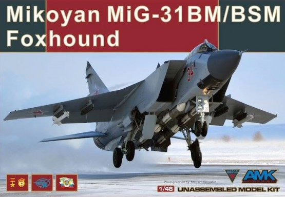 MiG-31BM/BSM Foxhound 1:48