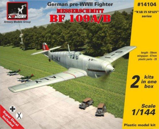 Messerschmitt Bf 109A/B 1:144