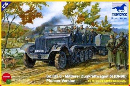 Bronco Sd.Kfz.6 - Mittler Zugkraftwagen 5t (BN9b) 1:35