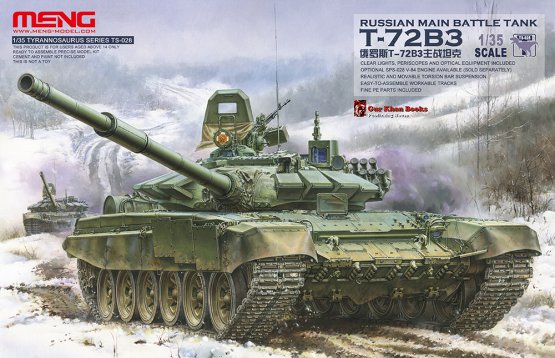 Meng T-72B3 Russtan MBT 1:35