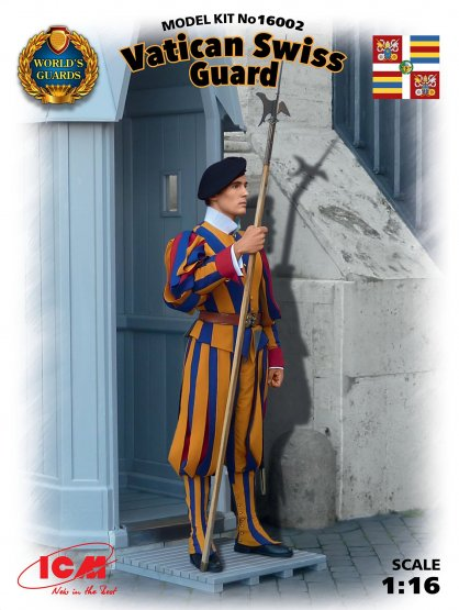 ICM Vatican Swiss Guard 1:16