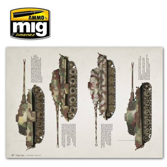 AMMO of MiG - Visual Modellers Guide - King Tiger