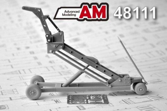 Advance Modeling Russian/ Soviet Crane cart 1:48