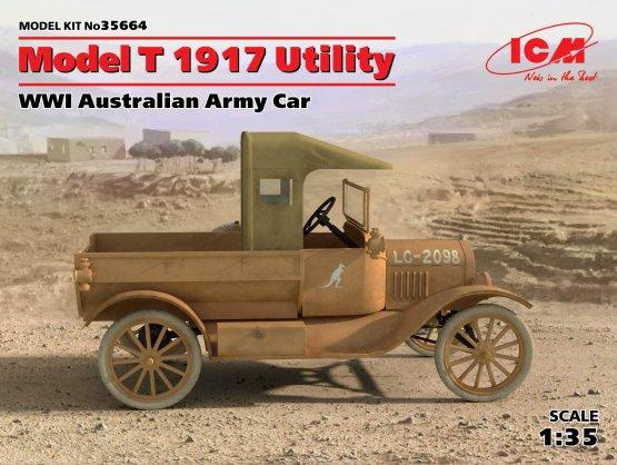 ICM Ford Model T 1917 - Utility  1:35