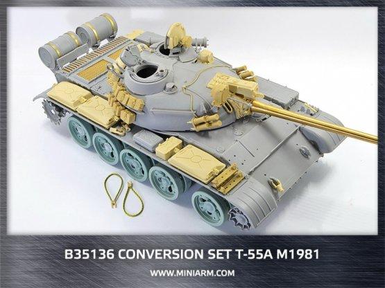 Miniarm T-55A m1981 Conversion set 1:35