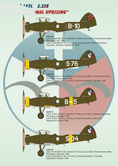 Special Hobby Letov S.328 - Slovak National Uprising 1:72