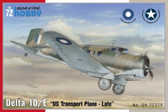 Special Hobby Delta 1D/ E US Transport plane 1:72