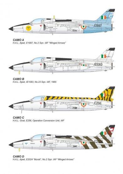 HAL Ajeet Mk. I - Indian Light Fighter 1:72
