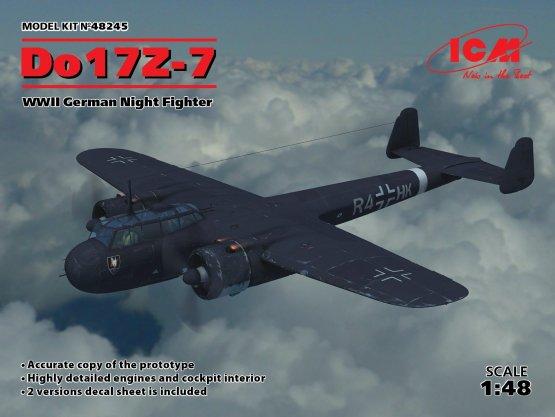 Dornier Do 17Z-7 - Night Fighter 1:48