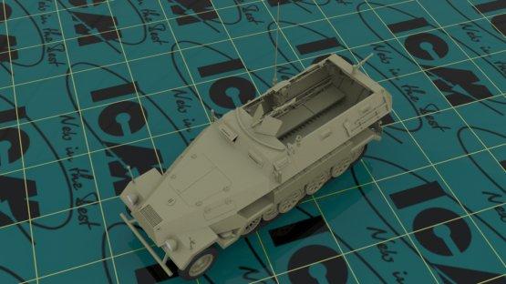 ICM Sd.Kfz.251/1 Ausf.A 1:35