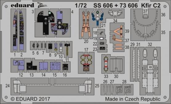 Kfir C2 P.E. for AMK - Zoom 1:72