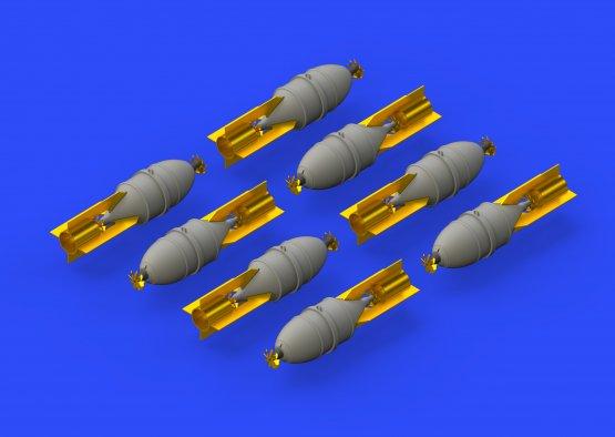 Eduard Brassin FAB 100 Soviet WWII bombs 1:48
