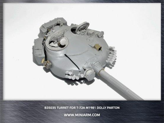 Miniarm T-72A (M1) m1981 Dolly Parton turret 1:35