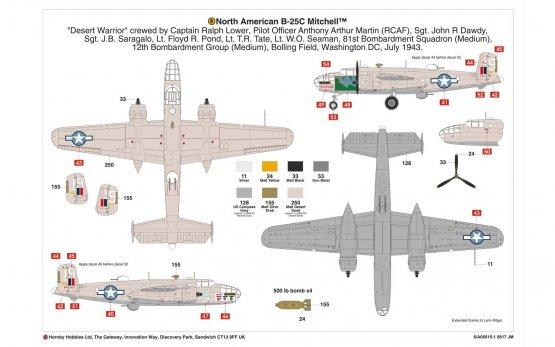 Airfix North American B-25C/D Mitchell 1:72