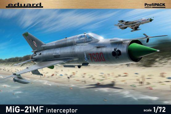 MiG-21MF interceptor - ProfiPACK 1:72