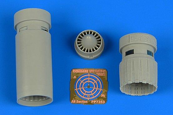 IAI Kfir C2/C7 exhaust nozzles for AMK 1:72