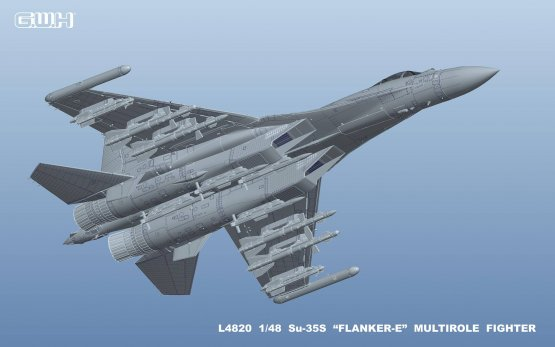 Su-35S Flanker-E 1:48