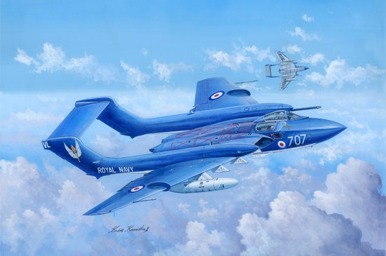 Trumpeter de Havilland DH.110 Sea Vixen Faw.2 1:48