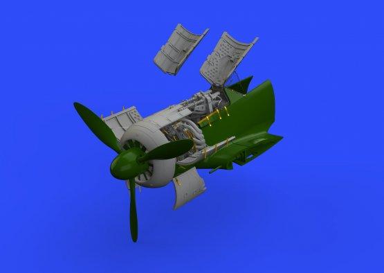 Eduard Brassin Fw 190A-5 engine & fuselage guns for Eduard 1:48