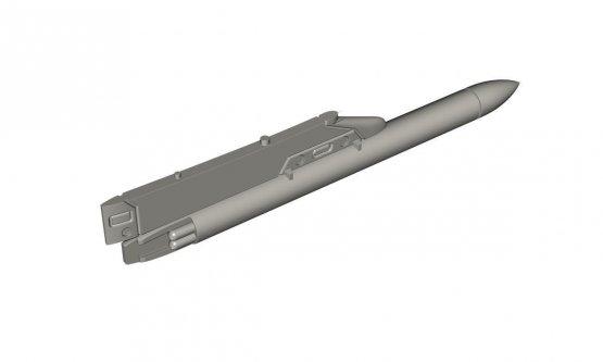 CMK Mirage F.1 - Sycomor - Chaff/ Flare Dispenser 1:72