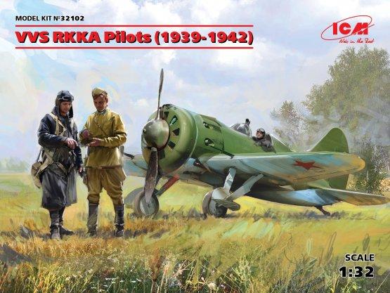 ICM VVS RKKA Pilots (1939-1942) 1:32