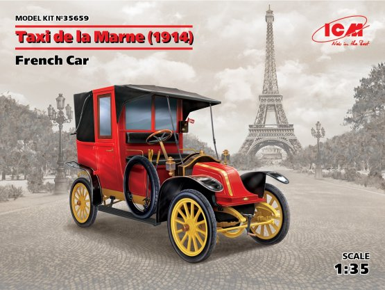 Renault Type AG 9 CV - Taxi de la MArne (1914) 1:35