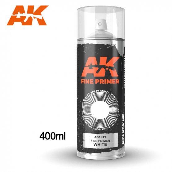 AK Spray - Primer Fine White 400ml