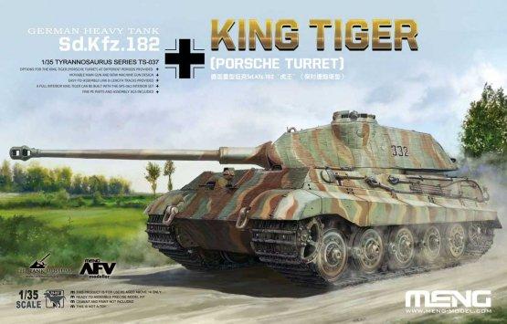 Meng Sd.Kfz.182 King Tiger (Porsche Turret) 1:35