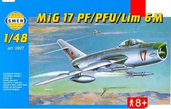 Smer MiG-17PF/PFU/ Lim-6M 1:48