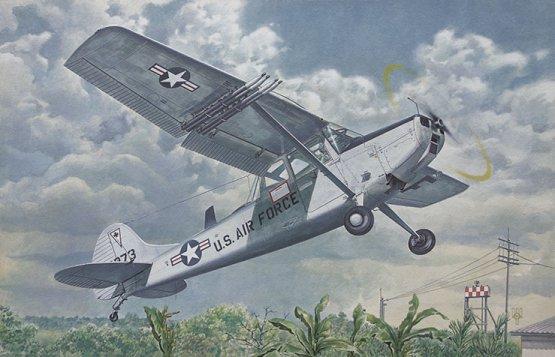 Cessna L-19/O-1 Bird Dog 1:48