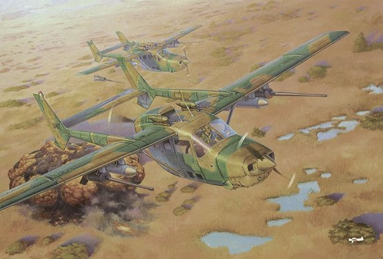 Reims Cessna FTB337G Lynx - Bush War 1:32