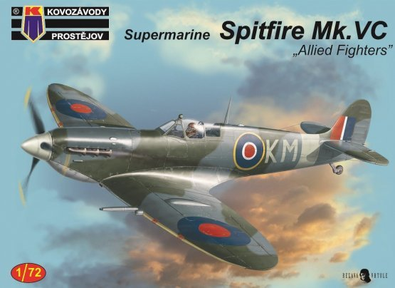 Spitfire Mk.Vc - Allied Fighters 1:72