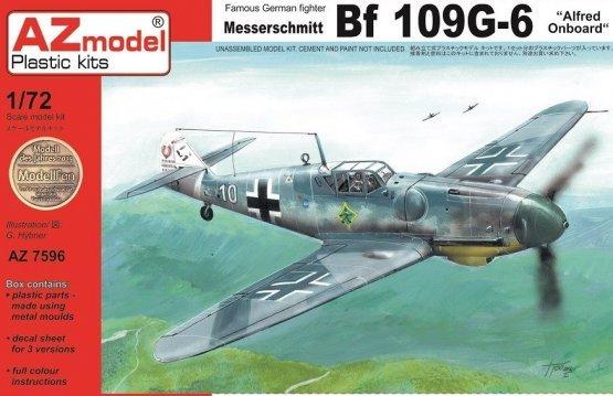 Messerschmitt Bf 109G-6 - Alfred Onboard 1:72