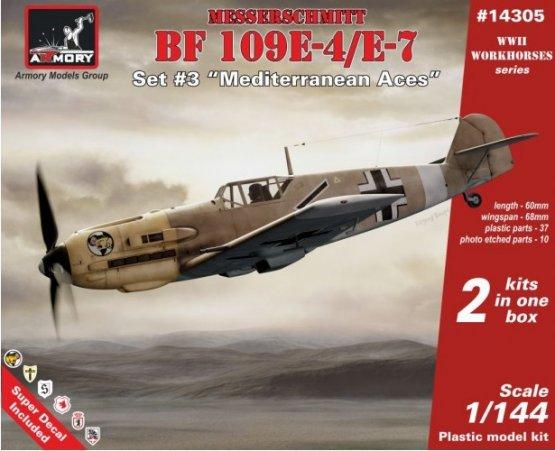 Messerschmitt Bf 109E - Mediterranean Aces 1:144