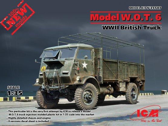 Model W.O.T. 6 - WWII British Truck 1:35