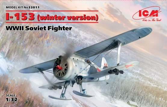 Polikarpov I-153 -  Winter version 1:32