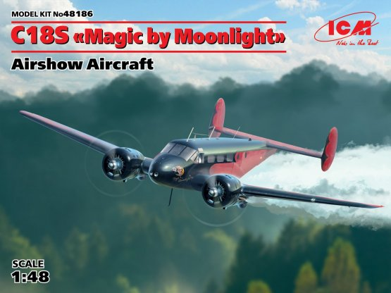 Beech C18S - Magic by Moonlight 1:48