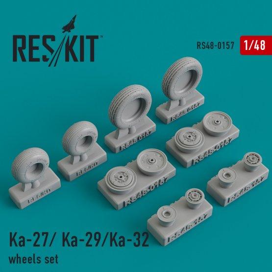 Ka-27/Ka- 29/Ka-32 wheels set 1:48