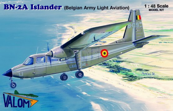BN-2A Islander (Belgian Air Light Aviation) 1:48