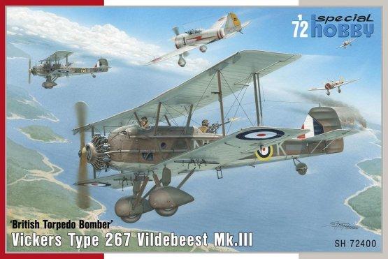 Vickers Vildebeest Mk. III 1:72