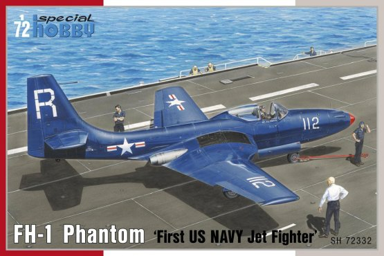 FH-1 Phantom - First US NAVY Jet Fighter 1:72